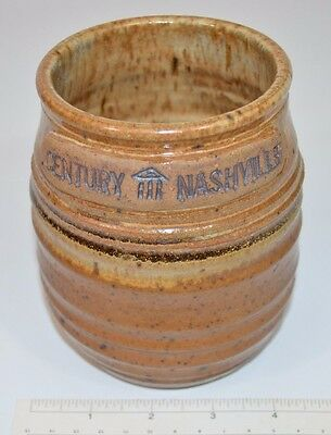 Pottery Crock Jar Century Nashville Hand Thrown Studio Art