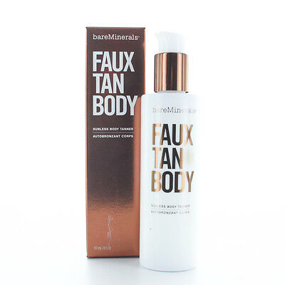BareMinerals Faux Tan Body Sunless Body Tanner 6oz/177ml New In Box