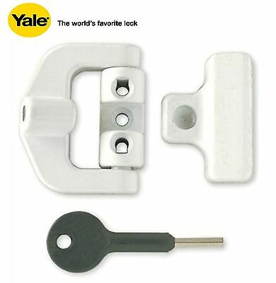Yale PVCu Window Lock White Finish V-8K123LK-WE
