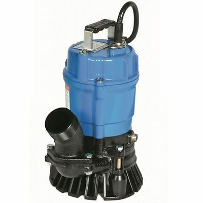 Tsurumi Submersible Trash Water Pump 2-inch Discharge 52 GPM