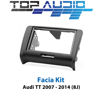 Audi TT radio stereo double 2 din fascia dash panel trim plate facia kit