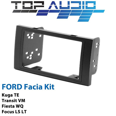 Ford LS LT TE WQ VM Double Din Car Radio Facia dash panel trim Fascia Kit plate