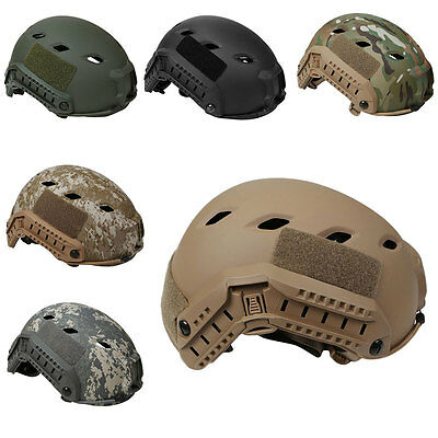 Military Tactical Fast BJ Navy Airsoft Paintball Helmet Multicam Black Tan Gray