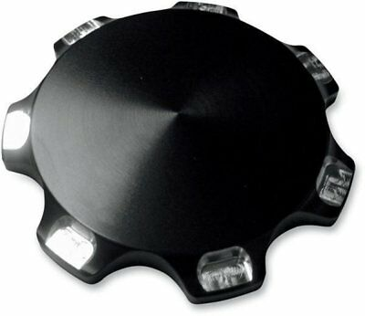 Joker Machine Gas Cap Smooth BLK Anodized Triumph Thruxton SE Scrambler