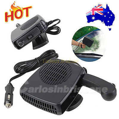 Portable Car Heater 12V 150W Defroster Demister Fan Heating Vehicle Ceramic