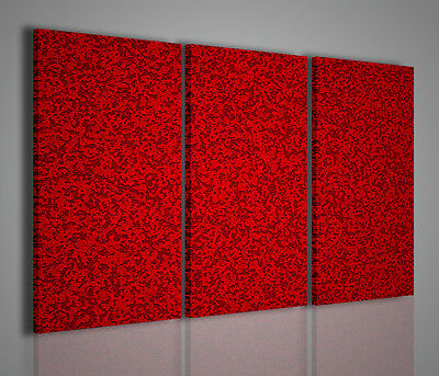 Quadro Moderno Abstract Red Stampa Su Tela Quadri Moderni X Arredamento Casa