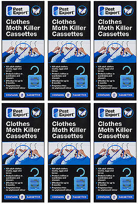 Clothes Moth Killer Hanging Unit Cassettes from Pest Expert (twinpack) X6
