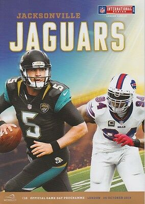 BUFFALO BILLS v JACKSONVILLE JAGUARS NFL WEMBLEY STADIUM 2015