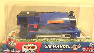 Fisher Price TRACKMASTER Thomas & Friends LOCO Sir Handel motorized Train