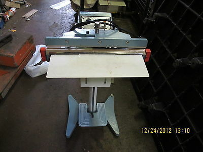 "18"" Impulse Foot Sealer With Bags American International Electric"