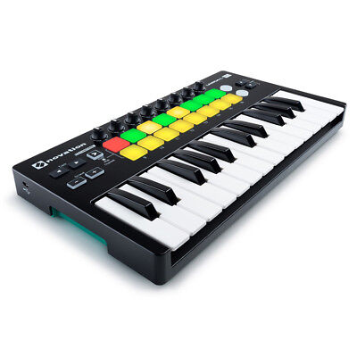 Novation Launchkey Mini Mk2 USB MIDI Keyboard + Ableton for iOS