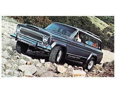 1976 Jeep Cherokee Chief Photo Poster zca3713