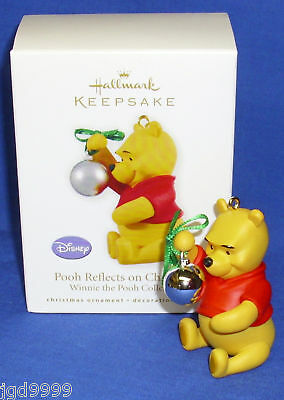 Hallmark Ornament Disney's Winnie the Pooh Reflects on Christmas 2010 NIB