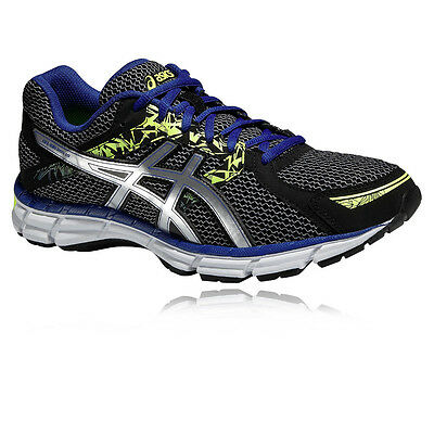 ASICS Gel-Oberon 10 Mens Grey Black Cushioned Running Sports Shoes Trainers