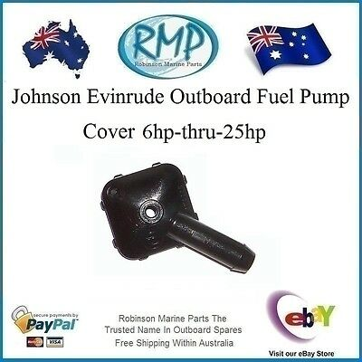 A Nice New Evinrude Johnson Fuel Pump Cover 6hp-25hp Before 1992 # 329972