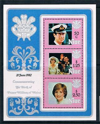 Niue 1982 Birth of Prince William of Wales (2nd series) MS MNH