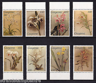 Guyana - 1987 Orchids (19th Issue) - U/M - SG 2066-73