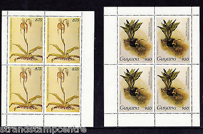 Guyana - 1988 Orchids (30th Issue) - U/M - SG 2311-5 x 4 Sheetlets