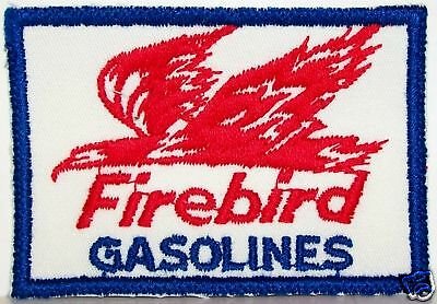 1960's PURE OIL COMPANY FIREBIRD GASOLINE GAS STATION ATTENDENT JACKET PATCH