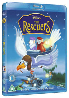 The Rescuers Blu-Ray (2012) Wolfgang Reitherman cert U ***NEW*** Amazing Value