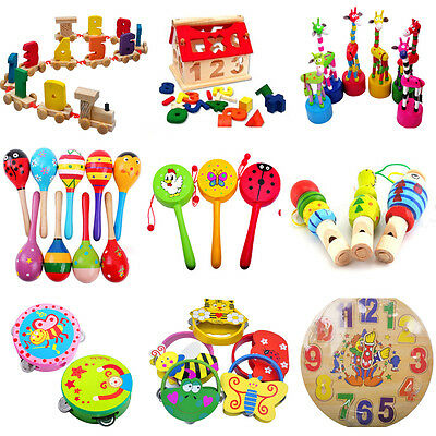 Baby Educational Kids Children Intellectual Developmental Wooden Toy Funny Gift