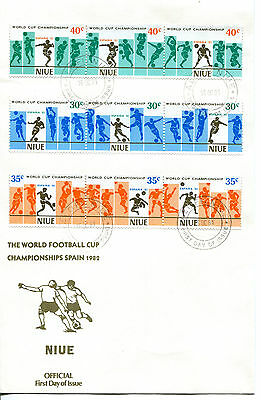 Niue 1981 World Cup Football Championships  FDC