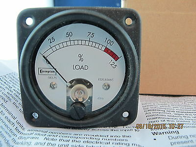 MEP-531A / MEP-501A Ammeter 083-75A2-211841 NSN 6625996236974 NEW Tyco Crompton