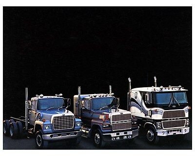 1985 Ford CL9000 Truck Factory Photo ca3965
