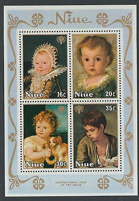Niue 1979 International Year of the Child MS MNH