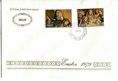 Niue 1979 Easter FDC