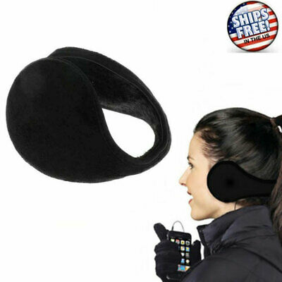 Ear Muffs Fleece Winter Ear warmers Earwarmer Mens Womens Behind the Head Band