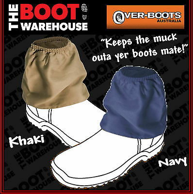 OVER-BOOT Work Boot Covers, Protectors - Redback, Mongrel, Blundstone, Oliver.