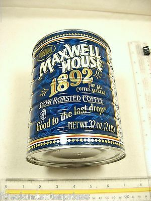 Maxwell House Coffee Tins 1892 - 1992 100 Yr Anniversary Tin - Good to Last Drop