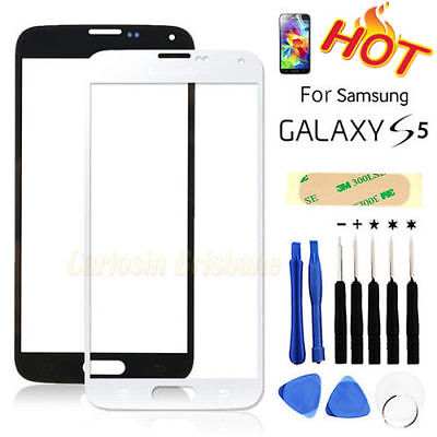 For Samsung Galaxy S5 Replacement Glass Digitizer Touch Screen Repair Kit G900