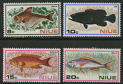Niue 1973 Fishes MNH