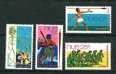 Niue 1972 South Pacific Arts Festival MNH