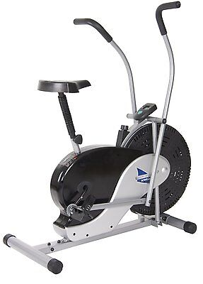Body Rider Fan Bike Measures 41.75 by 22 by 46.5 inches weighs 47.3 pounds NEW