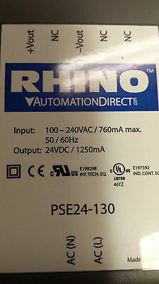 Rhino Automation Direct Power Supply Pse24-130