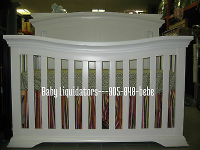 The Seraphina 4 in 1 Convertible Crib-Free Shipping in the Greater Toronto Area