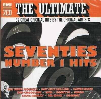 Various Artists : The Ultimate Seventies Number 1 Hits CD