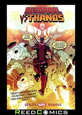 DEADPOOL VS THANOS GRAPHIC NOVEL New Paperback Collects Issues #1-4