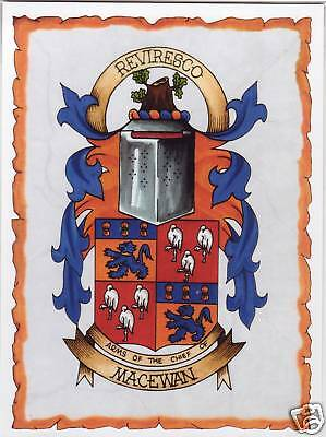 Scottish Clan Crest - Macewan
