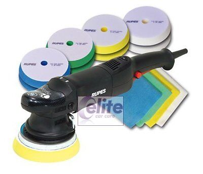 Rupes LHR15 MKII Bigfoot Random Orbital Polisher STF Kit - UK Machine & Warranty