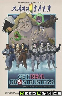 GHOSTBUSTERS GET REAL GRAPHIC NOVEL New Paperback Collects Issues #1-4