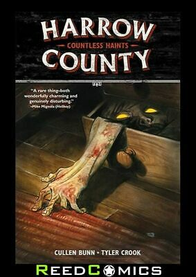 HARROW COUNTY VOLUME 1 COUNTLESS HAINTS GRAPHIC NOVEL New Paperback Collect #1-4