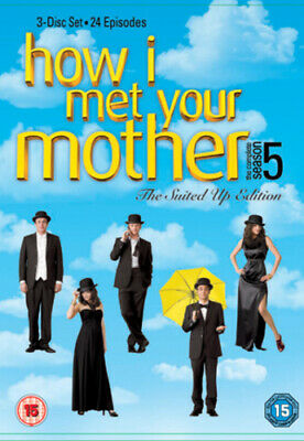 How I Met Your Mother: The Complete Fifth Season DVD (2010) Josh Radnor cert 15