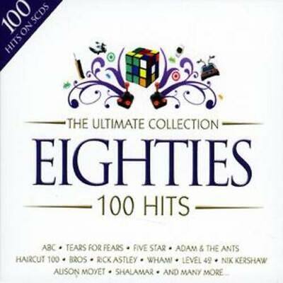 Various Artists : The Ultimate Collection - 80s: 100 Hits CD (2008)