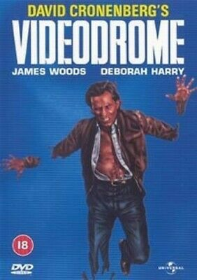 Videodrome DVD (2011) James Woods, Cronenberg (DIR) cert 18 Fast and FREE P & P