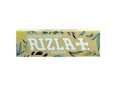 Rizla Natura Rolling papers brown in color for slow burn (2/5/10/20/50)pcs