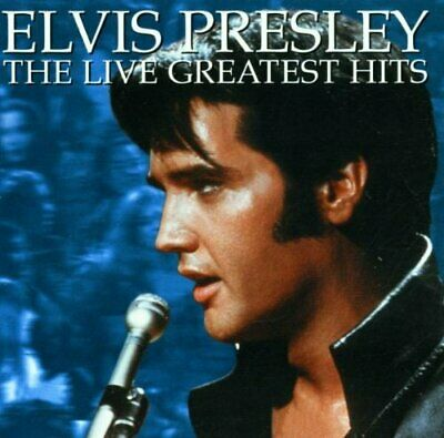 Elvis Presley : The Live Greatest Hits CD